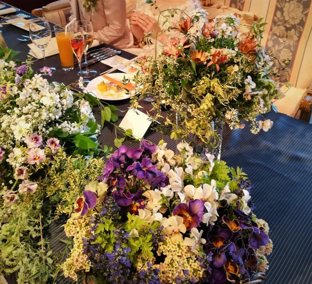 花いっぱいのウェディング-フルーレ