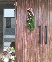 ドア飾り‐フルーレ